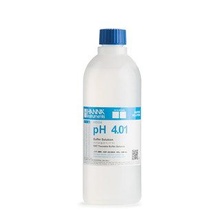 Solution tampon pH 4 01   0 01 pH  certificat d analyse  bouteille 500 mL