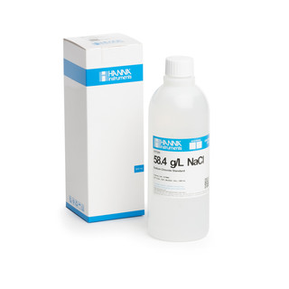Solution de chlorure de sodium 58 4 g/L  bouteille 500 mL