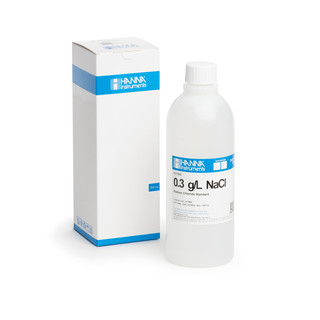 Solution de chlorure de sodium 0 3 g/L  bouteille 500 mL