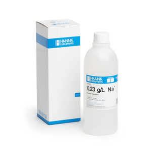 Solution de sodium 0 23 g/L  bouteille 500 mL